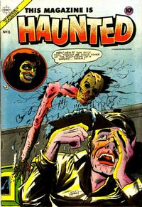 Cover Thumbnail for This Magazine Is Haunted (Charlton, 1954 series) #15