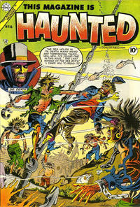 Cover Thumbnail for This Magazine Is Haunted (Charlton, 1954 series) #16