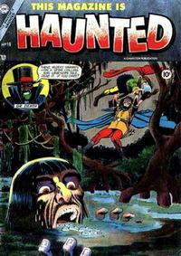 Cover Thumbnail for This Magazine Is Haunted (Charlton, 1954 series) #18