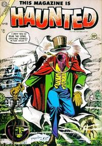 Cover Thumbnail for This Magazine Is Haunted (Charlton, 1954 series) #19