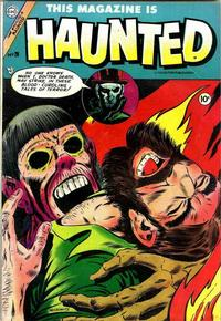 Cover Thumbnail for This Magazine Is Haunted (Charlton, 1954 series) #20