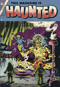 Cover Thumbnail for This Magazine Is Haunted (Charlton, 1954 series) #21