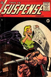 Cover Thumbnail for This Is Suspense (Charlton, 1955 series) #24