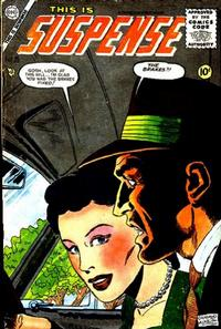 Cover Thumbnail for This Is Suspense (Charlton, 1955 series) #25