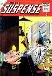 Cover Thumbnail for This Is Suspense (Charlton, 1955 series) #26
