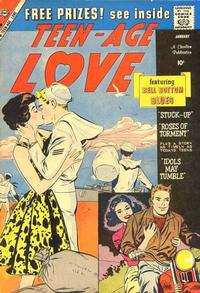 Cover Thumbnail for Teen-Age Love (Charlton, 1958 series) #12