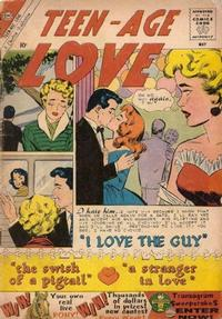 Cover Thumbnail for Teen-Age Love (Charlton, 1958 series) #14