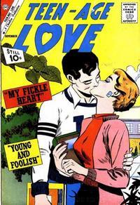 Cover Thumbnail for Teen-Age Love (Charlton, 1958 series) #23
