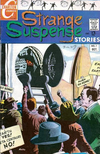 Cover Thumbnail for Strange Suspense Stories (Charlton, 1967 series) #1