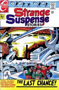 Cover Thumbnail for Strange Suspense Stories (Charlton, 1967 series) #2