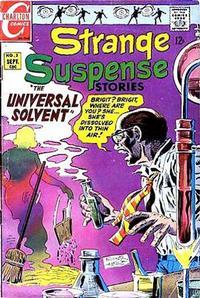 Cover Thumbnail for Strange Suspense Stories (Charlton, 1967 series) #3