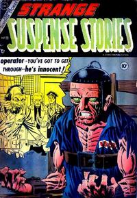 Cover Thumbnail for Strange Suspense Stories (Charlton, 1954 series) #19