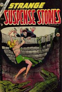 Cover Thumbnail for Strange Suspense Stories (Charlton, 1954 series) #21