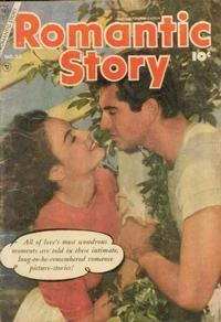 Cover Thumbnail for Romantic Story (Charlton, 1954 series) #23