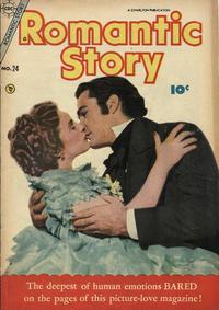 Cover Thumbnail for Romantic Story (Charlton, 1954 series) #24