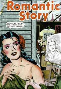 Cover Thumbnail for Romantic Story (Charlton, 1954 series) #25