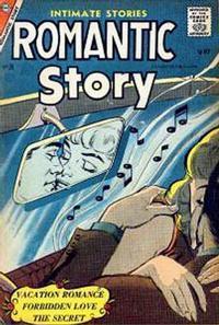 Cover Thumbnail for Romantic Story (Charlton, 1954 series) #35