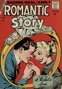 Cover Thumbnail for Romantic Story (Charlton, 1954 series) #38