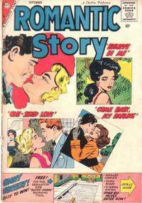 Cover Thumbnail for Romantic Story (Charlton, 1954 series) #45