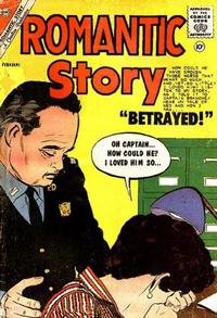 Cover Thumbnail for Romantic Story (Charlton, 1954 series) #53