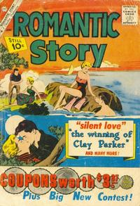 Cover Thumbnail for Romantic Story (Charlton, 1954 series) #55