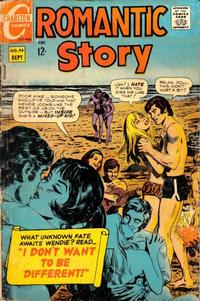 Cover Thumbnail for Romantic Story (Charlton, 1954 series) #95