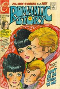 Cover Thumbnail for Romantic Story (Charlton, 1954 series) #117