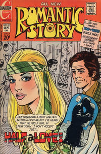 Cover for Romantic Story (Charlton, 1954 series) #129