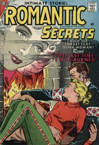 Cover Thumbnail for Romantic Secrets (Charlton, 1955 series) #13