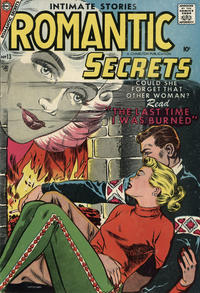 Cover Thumbnail for Romantic Secrets (Charlton, 1955 series) #13
