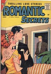 Cover Thumbnail for Romantic Secrets (Charlton, 1955 series) #19
