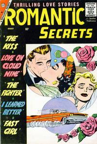 Cover Thumbnail for Romantic Secrets (Charlton, 1955 series) #22