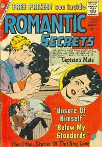Cover Thumbnail for Romantic Secrets (Charlton, 1955 series) #24