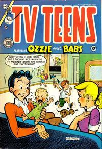 Cover Thumbnail for TV Teens (Charlton, 1954 series) #3