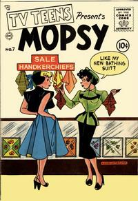 Cover Thumbnail for TV Teens (Charlton, 1954 series) #7