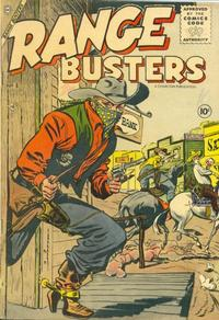 Cover Thumbnail for Range Busters (Charlton, 1955 series) #8