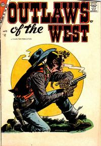 Cover Thumbnail for Outlaws of the West (Charlton, 1957 series) #13
