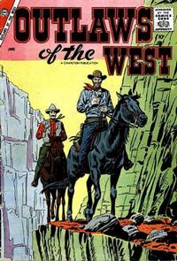 Cover Thumbnail for Outlaws of the West (Charlton, 1957 series) #15