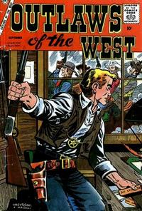 Cover Thumbnail for Outlaws of the West (Charlton, 1957 series) #16