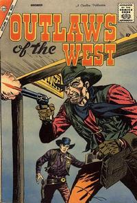 Cover Thumbnail for Outlaws of the West (Charlton, 1957 series) #17