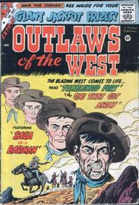 Cover Thumbnail for Outlaws of the West (Charlton, 1957 series) #20