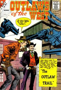 Cover Thumbnail for Outlaws of the West (Charlton, 1957 series) #22