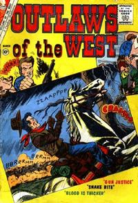Cover Thumbnail for Outlaws of the West (Charlton, 1957 series) #30