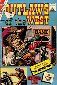 Cover Thumbnail for Outlaws of the West (Charlton, 1957 series) #38