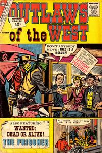 Cover Thumbnail for Outlaws of the West (Charlton, 1957 series) #39