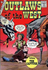 Cover Thumbnail for Outlaws of the West (Charlton, 1957 series) #40