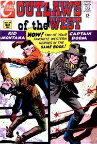 Cover Thumbnail for Outlaws of the West (Charlton, 1957 series) #69
