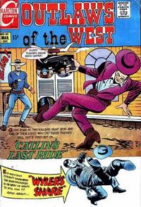 Cover Thumbnail for Outlaws of the West (Charlton, 1957 series) #80