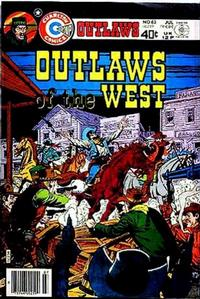 Cover Thumbnail for Outlaws of the West (Charlton, 1979 series) #82