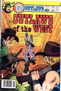 Cover Thumbnail for Outlaws of the West (Charlton, 1979 series) #83